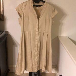 Chadwicks A-Line Pleated Dress